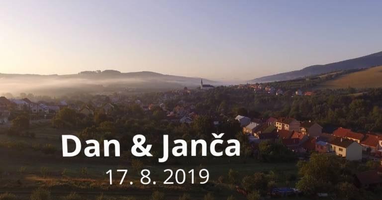 svatební film - Janča a Dan